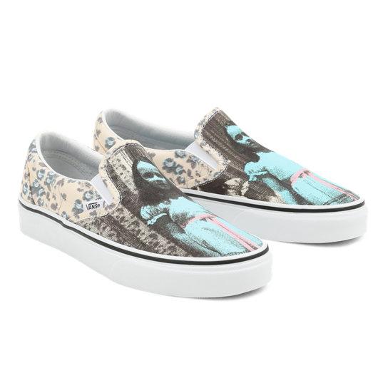 Vans X The Shining Classic Slip-On Shoes | Blue | Vans