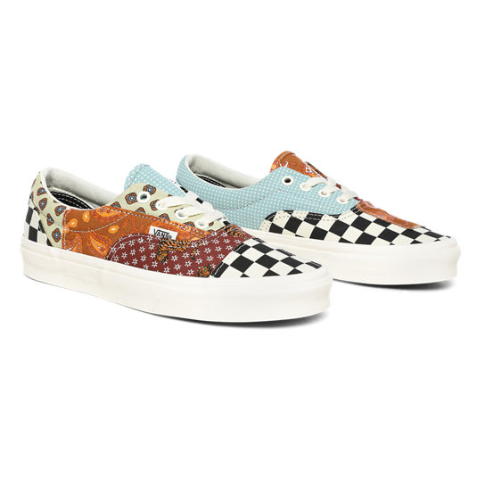 Tiger Patchwork Era Shoes | Vans