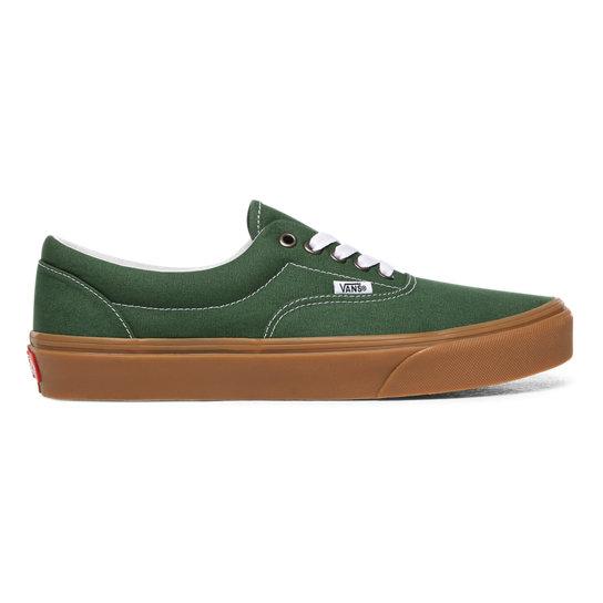 Gum Era Shoes | Green | Vans