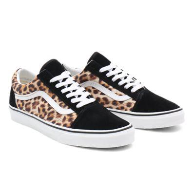 Scarpe Leopard Old Skool | Nero | Vans
