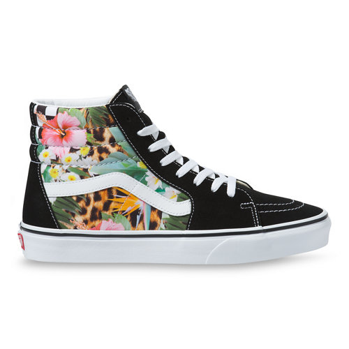 Chaussures+Tropical+Animal+Check+Sk8-Hi