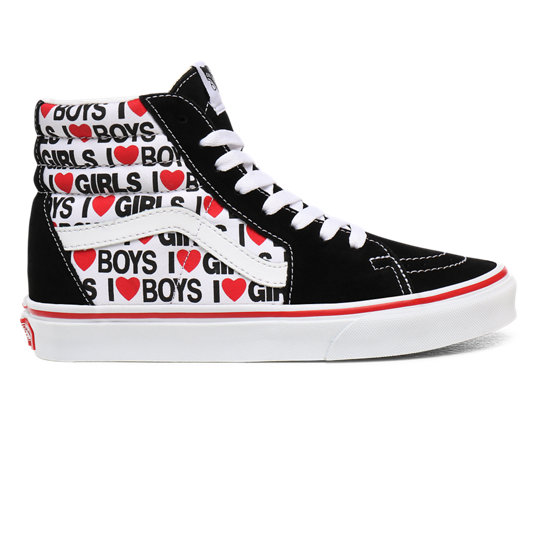 I Heart Sk8 Hi Schuhe