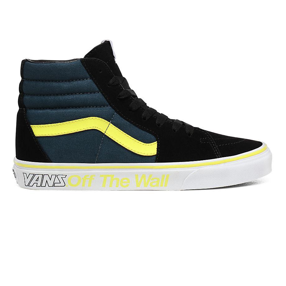 VANS Chaussures Sport Sk8-hi ((sport) Multi/true White) Femme Navy, Taille 40