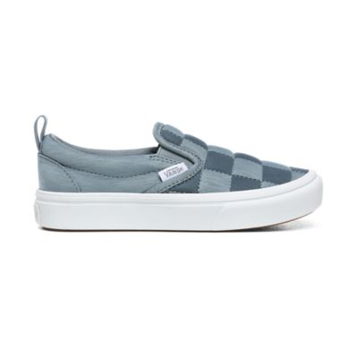 Vans Slip On ComfyCush® Autism Awareness Checkerboard Skate Shoe Baby Toddler Gray