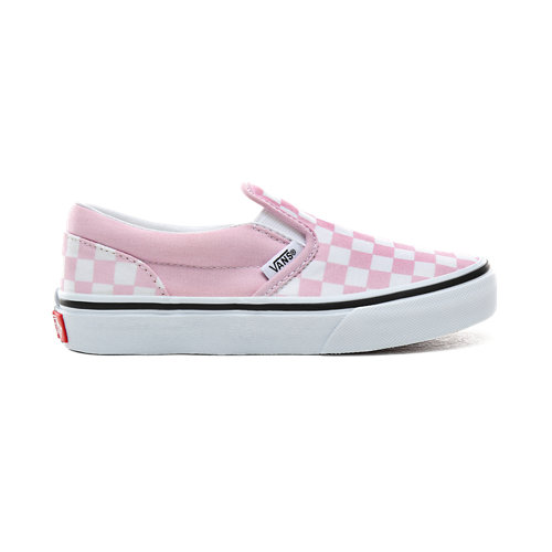 Zapatillas+de+ni%C3%B1os+Checkerboard+Classic+Slip-On+%288-14%2B+a%C3%B1os%29