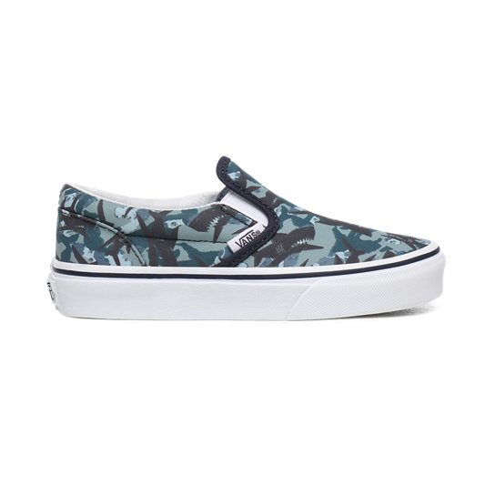 Youth Animal Camo Classic Slip-On Shoes (8-14+ years) | Vans