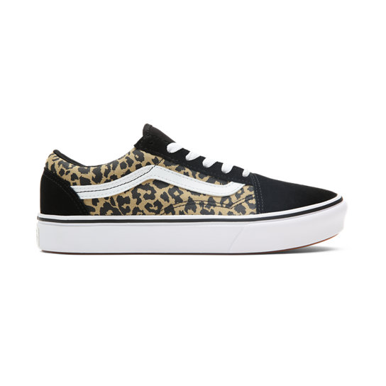 Youth Leopard ComfyCush Old Skool Shoes (8-14+ years) | Vans