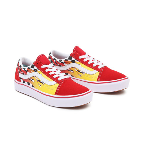 Zapatillas+de+ni%C3%B1os+Flame+ComfyCush+Old+Skool+%288-14%2B+a%C3%B1os%29