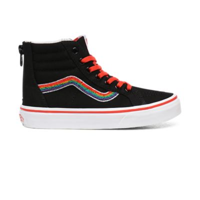 Youth Chenille Sk8 HI Zip Shoes (8 14+ years)