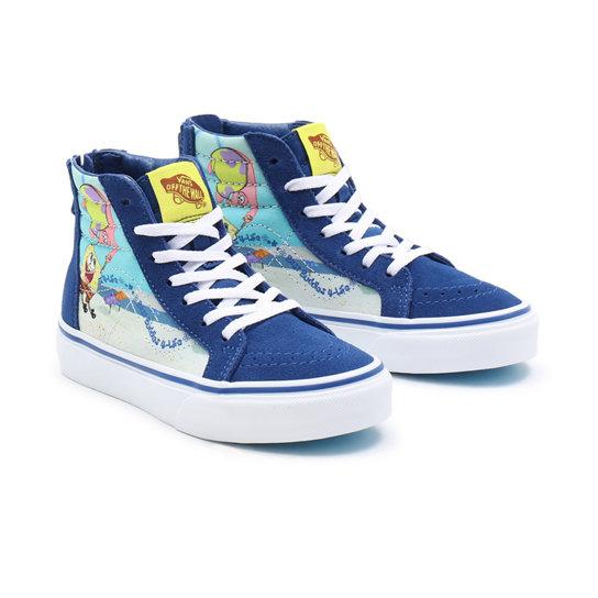 Chaussures Vans X SpongeBob Sk8-Hi Zip Ado (8-14 ans)