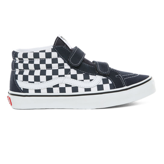 Youth Checkerboard Sk8-Mid Reissue V Shoes (8-14+ years) | Vans