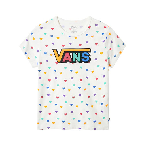 T-shirt+Junior+Colorful+Hearts+%288-14%2B+ans%29