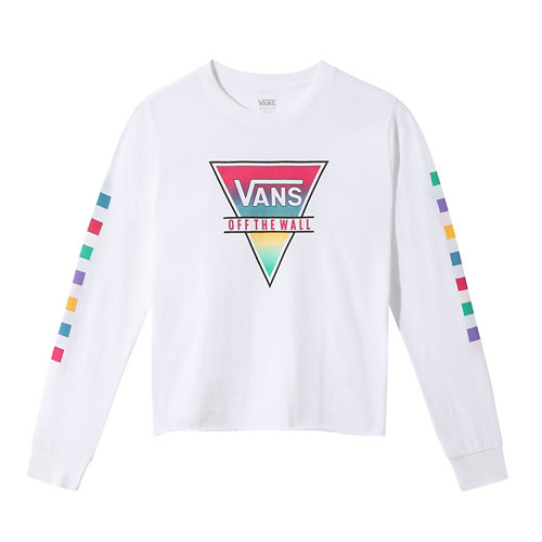 T-shirt+manches+longues+Girls+Rainbow+Triad+%288-14%2B+ans%29