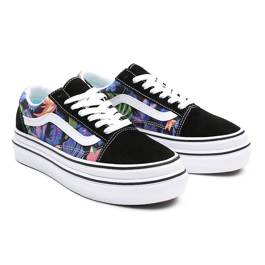 Vans  SUPER COMFYCUSH OLD SKOOL  women's Shoes (Trainers) in Black - VN0A4UUN4ZZ1