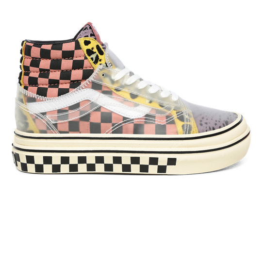 Mixed Media Super ComfyCush Sk8-Hi Skool Shoes | Vans