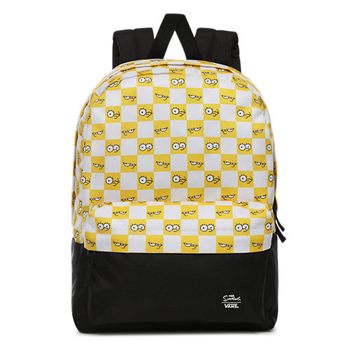 Der+Simpsons+x+Vans+Check+Eyes+Rucksack