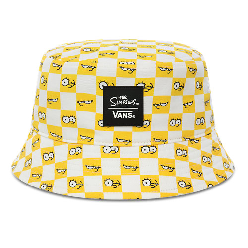 The+Simpsons+x+Vans+Check+Eyes+Bucket+Hat