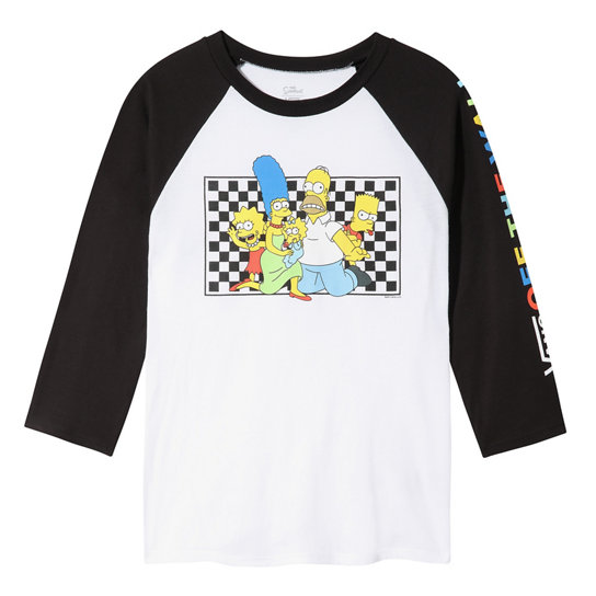 The Simpsons x Vans Family Raglan T-shirt | Vans