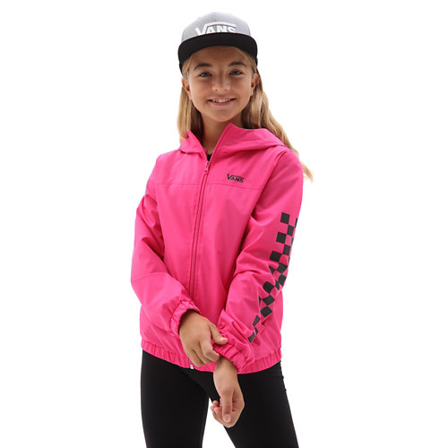 Girls+Kastle+Classic+Windbreaker+Jacket+%288-14+years%29