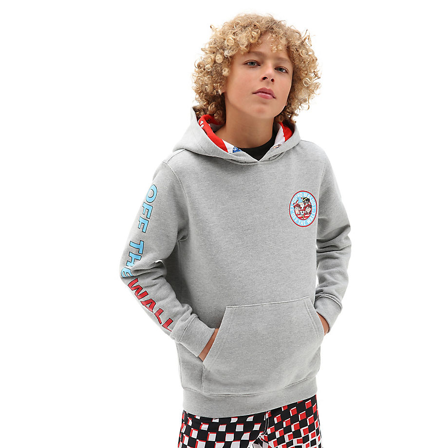 Sweat À Capuche Junior X Où Est Charlie ? (8-14 Ans) (cement Heather) Boys , Taille L - Vans - Modalova