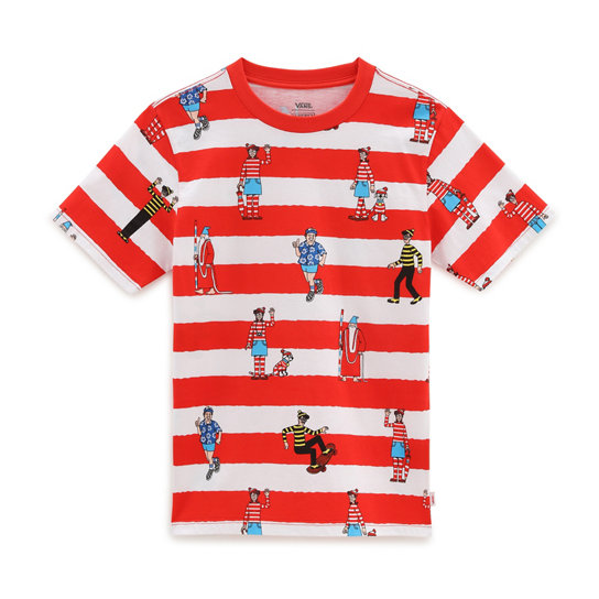Boys Vans x Where's Waldo? Stripe T-Shirt (8-14 years) | Vans