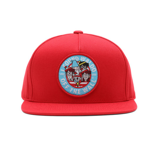 Kids Vans x Where's Waldo? Snapback Hat | Vans