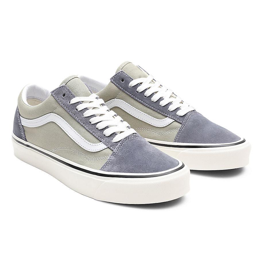 Chaussures Anaheim Factory Old Skool 36 Dx ((anaheim Factory) Og Dark Grey/og Platinum) , Taille 34.5 - Vans - Modalova