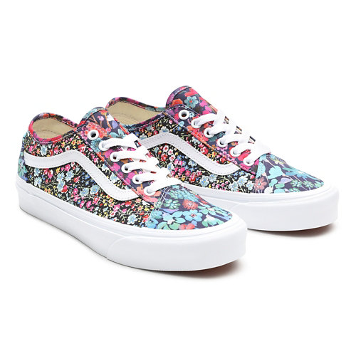 Zapatillas+de+tela+con+estampado+Liberty+Old+Skool+Tapered+de+Vans