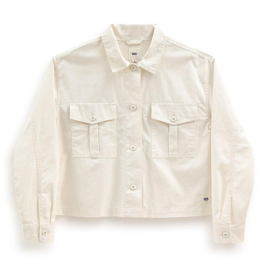 Veste-chemise Mixed Up (marshmallow) , Taille L - Vans - Modalova