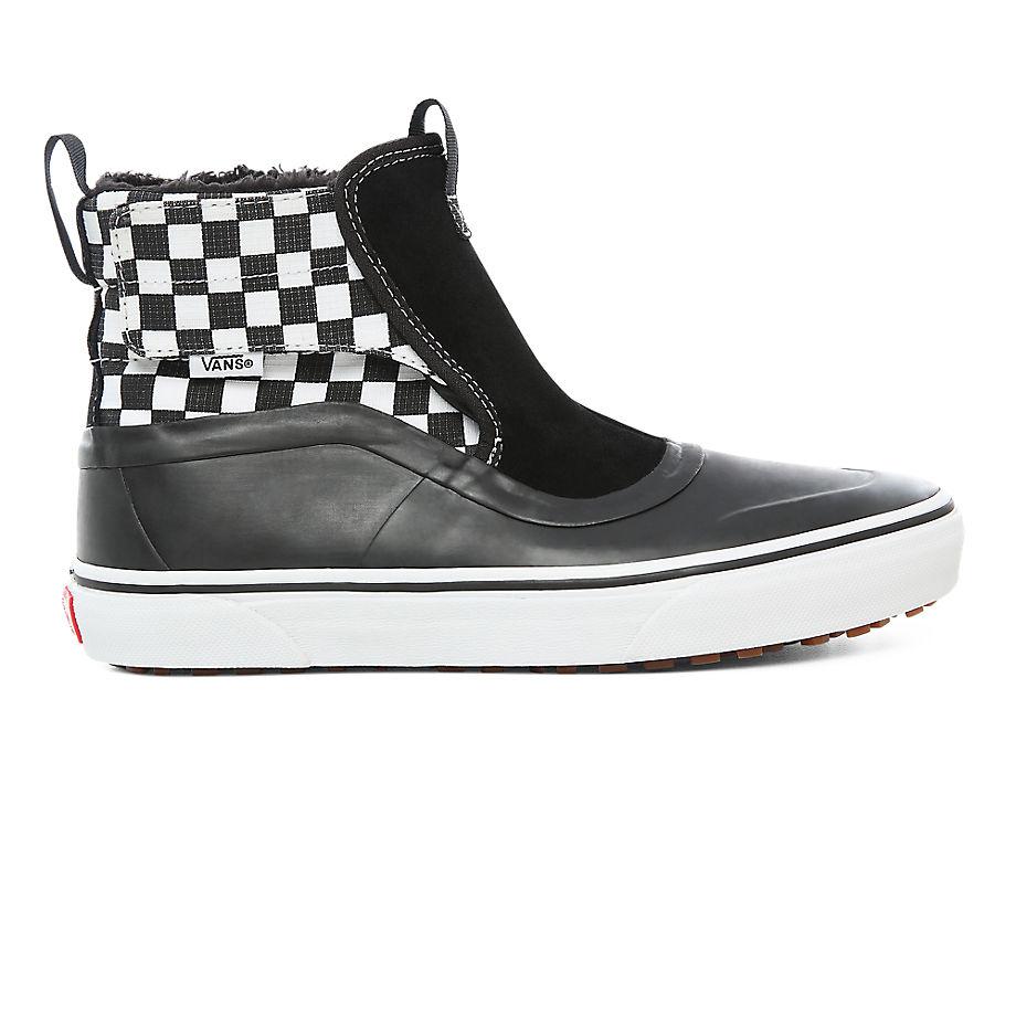 Chaussures Junior Check Quarter Slip-on Hi Terrain Mte (8-14+ Ans) ((check Quarter) Black/true White) Youth , Taille 34.5 - Vans - Modalova