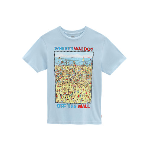 Little+Kids+Vans+x+Where%27s+Waldo%3F+Beach+T-Shirt+%282-8+years%29