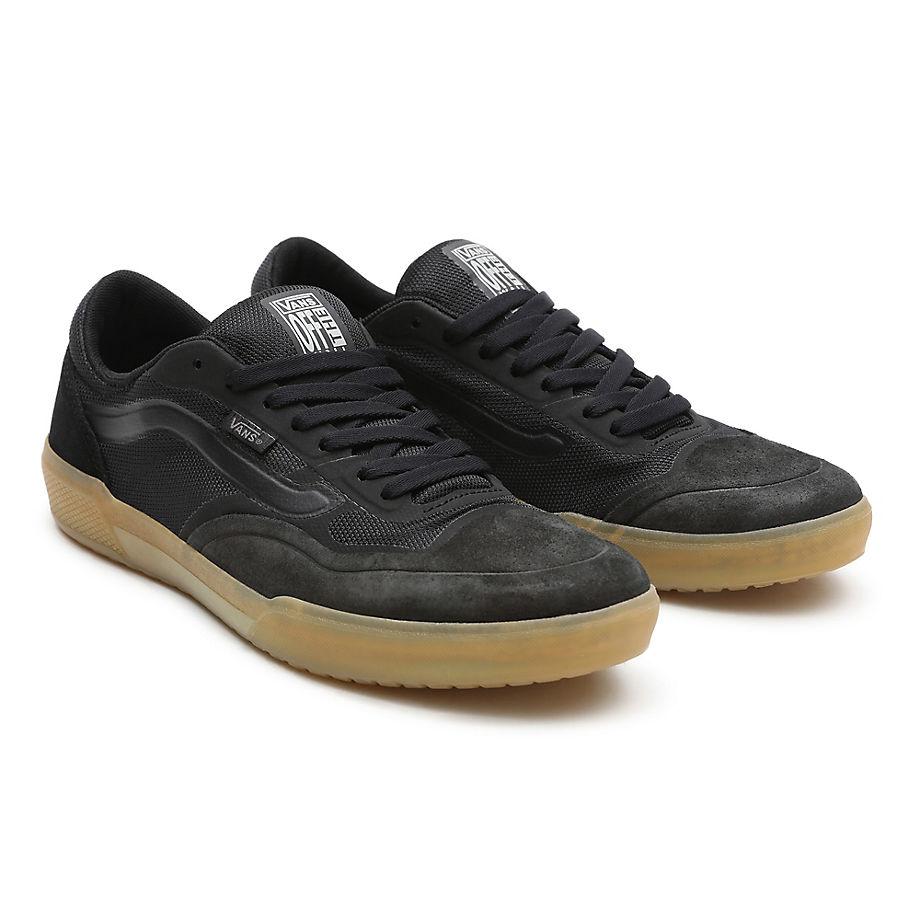 Sneaker Vans VANS Zapatillas Ave Pro (black/gum) Mujer Negro