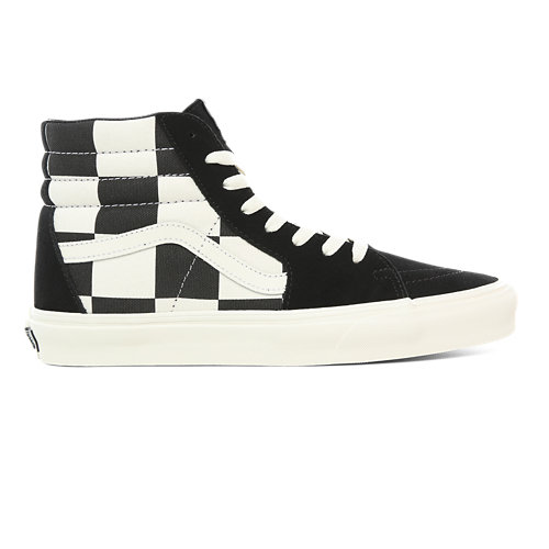 Chaussures+Oversize+Checkerboard+Sk8-Hi