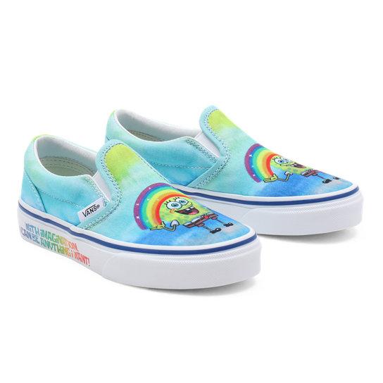 Chaussures Vans X SpongeBob Classic Slip-On Enfant (4-8 ans ...
