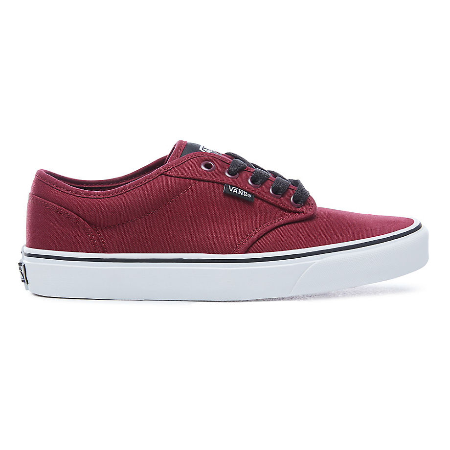 VANS Atwood Shoes (oxblood/white) Men Red, Size 10.5