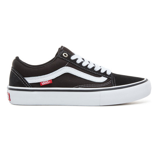 vans old skool pro black