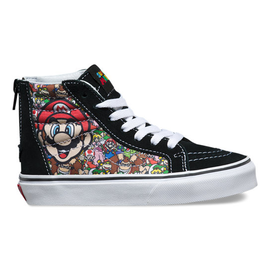 Chaussures Junior Sk8-Hi Zip Nintendo | Vans