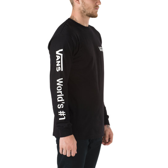 Worlds #1 Long Sleeve T-Shirt | Vans