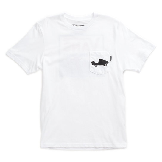 Boys Shark Stripe T-Shirt | Vans