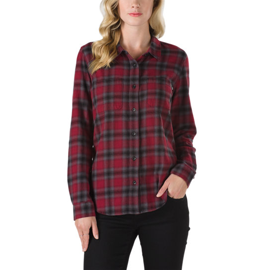 Meridian Flannel | Red | Vans
