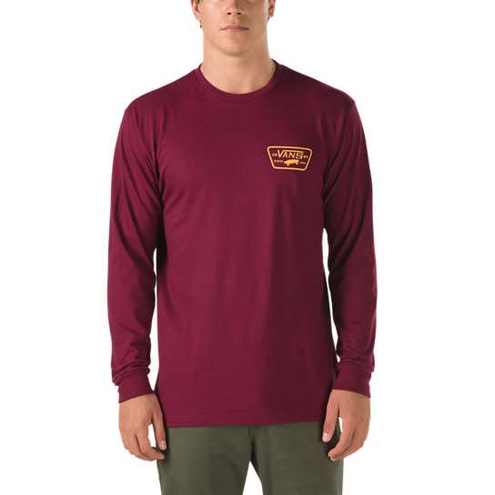 Full Patch Back Longsleeve T-shirt | Vans