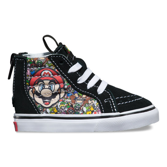 Toddler Nintendo Sk8-Hi Zip Shoes (1-4 years) | Vans