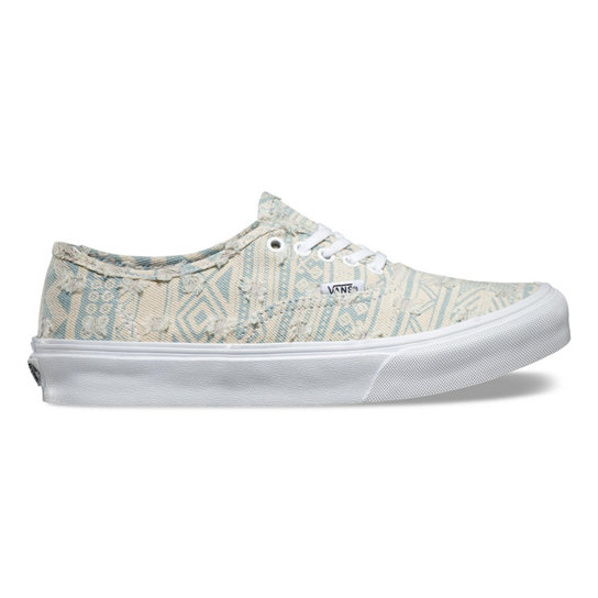 Frayed Native Authentic Slim Shoes | Vans