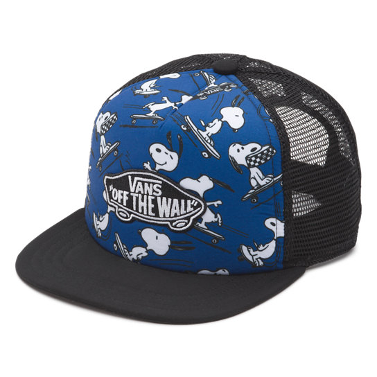 Boys Vans X Peanuts Classic Patch Trucker Plus Hat | Vans