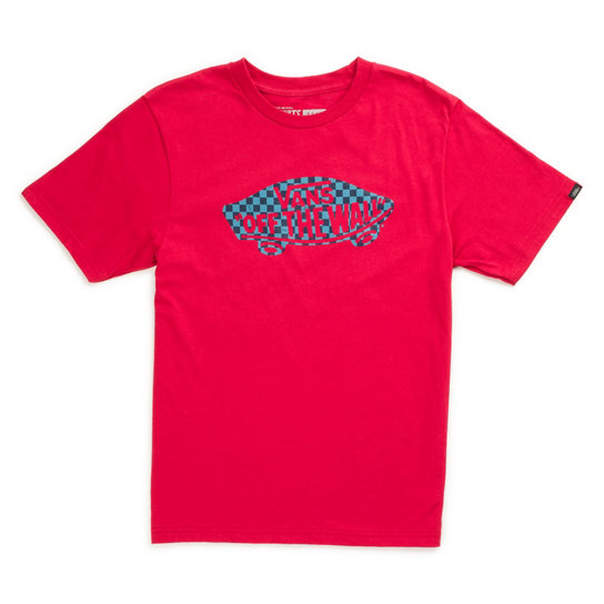Kinder OTW Checker Fill II T-Shirt | Vans