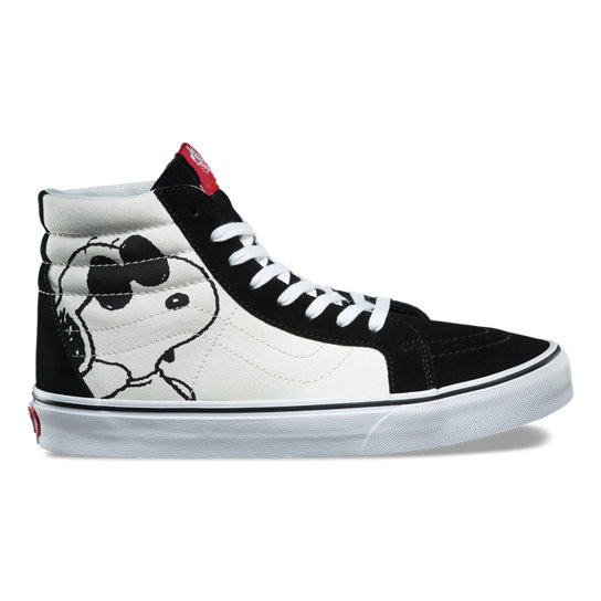a2ca22446264 Vans X Peanuts Sk8-Hi Reissue Shoes | Black | Vans