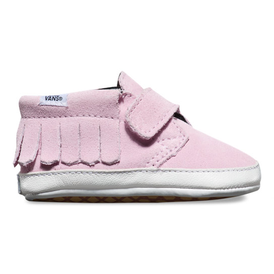 Infant Suede Chukka V Moc Crib Shoes | Vans
