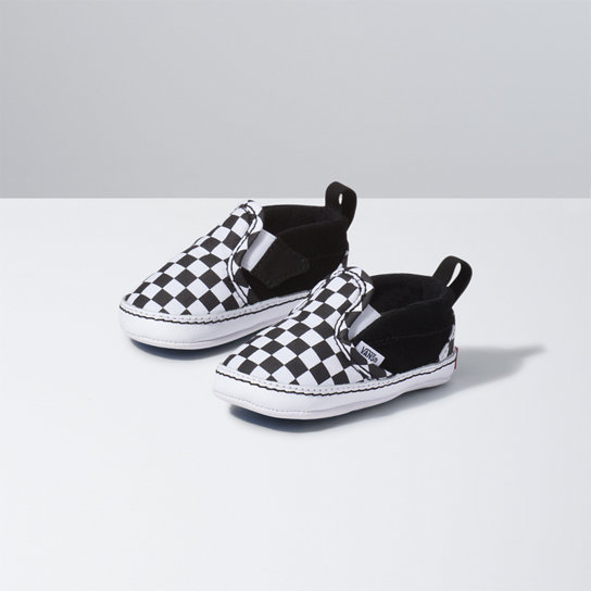 Infant Checker Slip-On V Crib Shoes | Vans