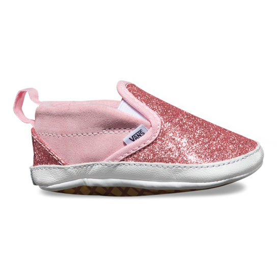 Infant Shimmer Slip-On V Crib Shoes | Vans