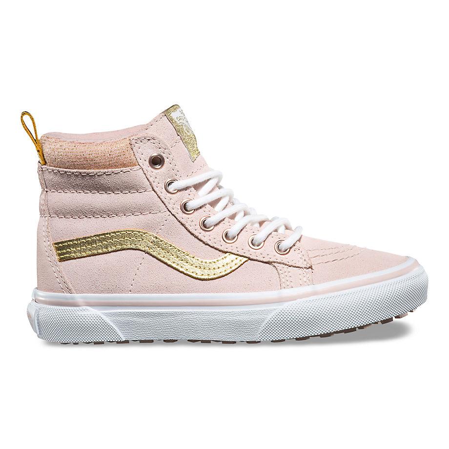 Sneaker Vans VANS Zapatillas Junior Sk8-hi Mte (sepia Rose/metallic) Niños Rosa